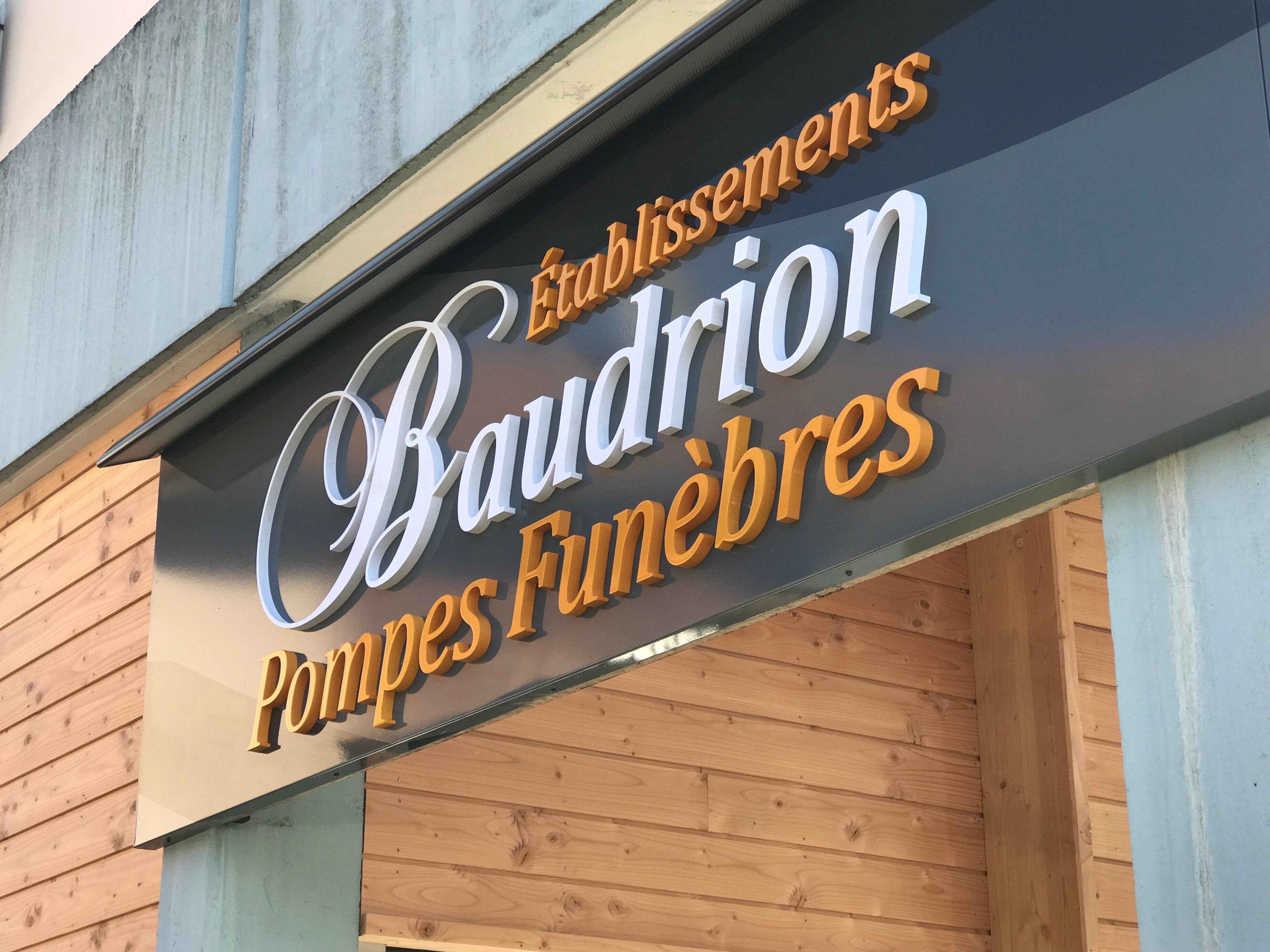 Enseigne-baudrion-pontcharra-lettresreliefs-lettresadhésives-pubgresivaudan-grenoble