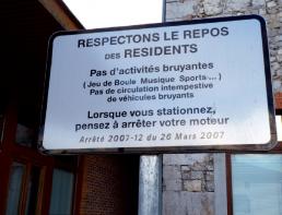 Arrêté municipal panneaux extérieur impression pub grésivaudan isère