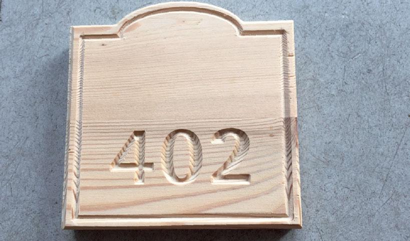 gravure Bois plaques portes grésivaudan